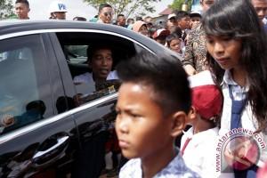 Presiden Jokowi di Palembang
