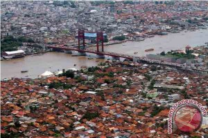 Dubes Amerika Serikat kagumi Sungai Musi Palembang