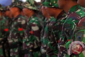 Prajurit Kodam Sriwijaya dapat bingkisan lebaran