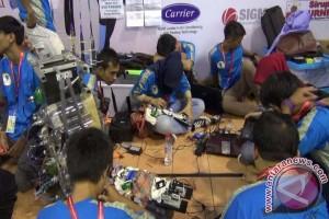 75 tim ikuti kontes robot Indonesia