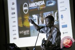 Andre Hehanussa gelorakan laut di Loenpia Jazz