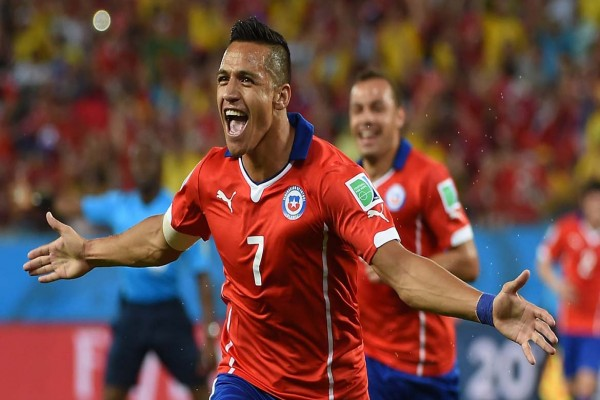 Gol-gol larut amankan kemenangan Chile atas Kamerun