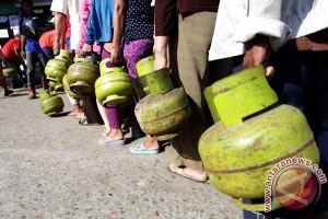 Harga elpiji tiga kilogram di Musirawas Utara Rp25 ribu