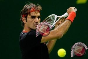 Federer raih kemenangan mudah atas Paire di dubai