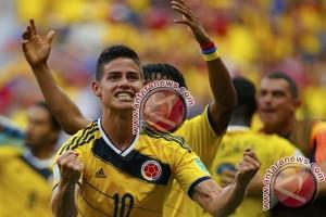 Rodriguez berlatih sendiri jelang pertandingan terakhir Kolombia