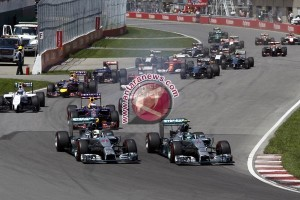 Susunan start formula 1 Gran Prix AS