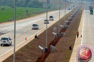 Jalur tol Cipali padat merayap