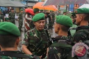 Pangdam Sriwijaya lepas pasukan  pengamanan pilkada