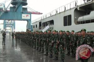 Personel TNI Yonif 142 Kodam Sriwijaya akan amankan perbatasan