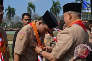 Wakil Bupati Musi Banyuasin terima Lencana Melati