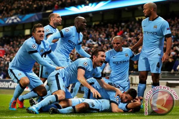 City bermain imbang 1-1 dengan Liverpool