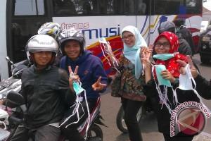 Pemuda Palembang gencar aksi peduli bencana asap