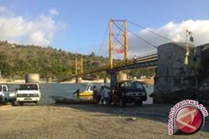 Jembatan cinta objek wisata favorit Nusa Penida