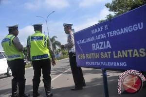 Sabhara Tim Walet OKU amankan lalu lintas dalam kota