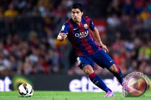 Luis Suarez terancam absen Copa America