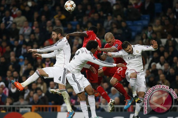 Hasil leg pertama perempat final Liga Champions