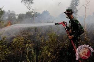 Polres-TNI pantau titik panas cegah kebakaran hutan