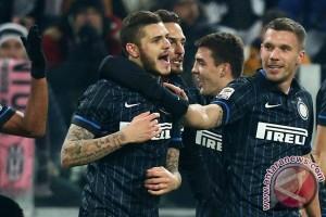 Inter menang 3-1 di markas Roma