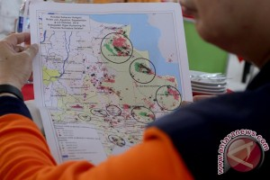 Satelit deteksi 173 titik panas di Sumatera