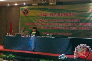 Pemprov Sumsel dukung kegiatan dialog kebangsaan
