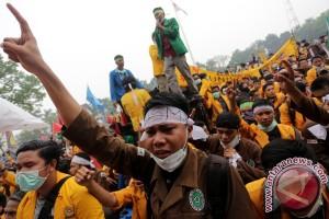 Mahasiswa se-Sumbagsel tuntut kebebasan berdemokrasi ditegakkan