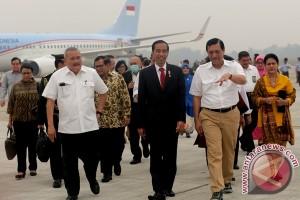 Presiden Jokowi hadiri panggung apung Danau Toba