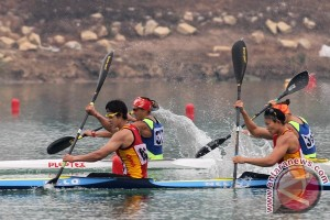 Asian Games (dayung) - Kazakhstan raih emas kano sprint k4 500 m