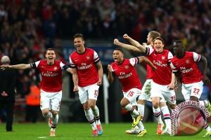 Arsenal pelihara harapan menembus liga Champions