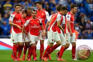Arsenal menjuarai Piala FA setelah tundukkan Chelsea