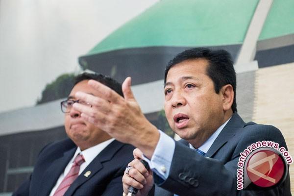 Tersangka korupsi triliunan Setyo Novanto ajukan praperadilan