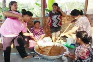 Menyulap makanan ringan menggunakan bahan biji karet