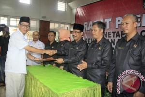 Pleno KPU tetapkan Heri Amalindo sebagai bupati