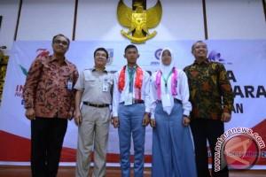 Sebanyak 17 siswa Kalimantan Utara ke Palembang