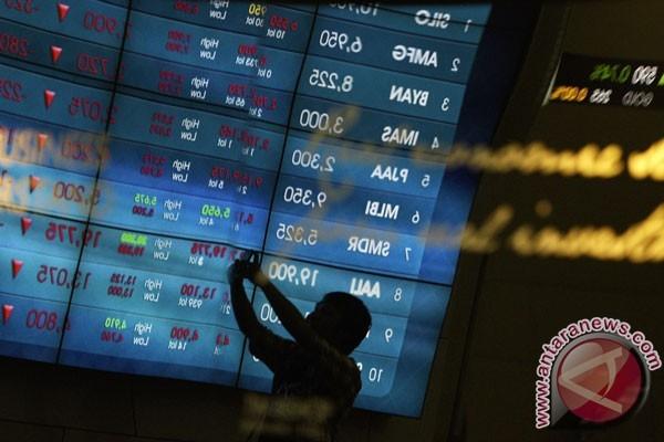 IHSG Bursa Efek Indonesia ditutup turun 17,03 poin