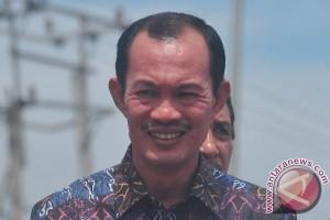Kawasan pejalan kaki Palembang dipercantik sambut AG