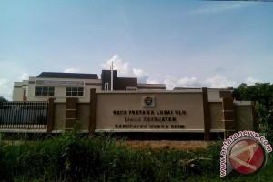 Rumah Sakit Karang Agung Lubai terbengkalai