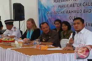 Pemkot Palembang targetkan retribusi parkir Rp12,5 miliar