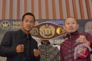 Perebutan gelar WBO Asia-Pacific dan Africa