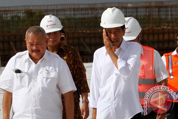 Presiden Jokowi akui pengerjaan tol Palembang-Indralaya berat