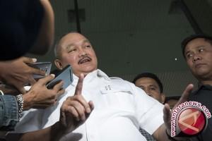 Gubernur Sumsel melihat korban runtuhan lantai BEI