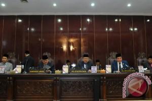 Lima pansus DPRD sampaikan hasil pembahasan LKPJ