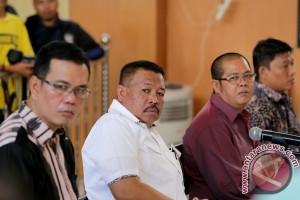 Hakim tolak eksepsi terdakwa suap Musi Banyuasin
