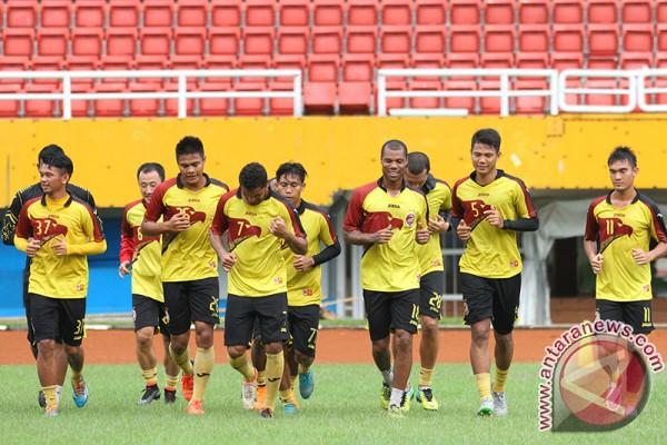 Sriwijaya FC boyong 20 pemain hadapi Arema