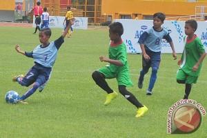 Liga sepak bola pelajar dimulai dari Sumut