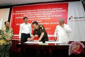 Pertamina-Kejati tandatangani kesepakatan bidang hukum