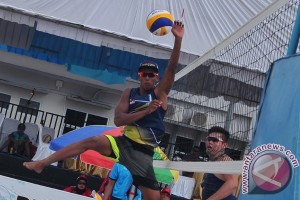 Tim voli pantai Indonesia gagal ke semifinal turnamen Asia Pasifik