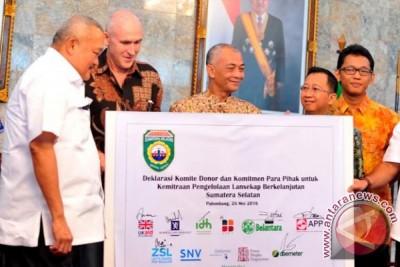 Enam LSM internasional deklarasi pengelolaan lanskap Sumsel