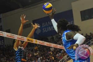 Bank SumselBabel tekuk Batam Sindo 3-0