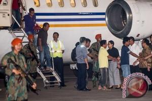 Korban sandera tiba di Jakarta