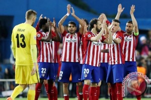 Real dan Atletico raih kemenangan di Liga Spanyol
